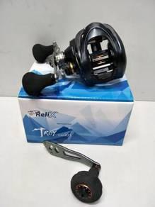 RELIX TROY SW Jigging Casting Fishing Reel Comodo