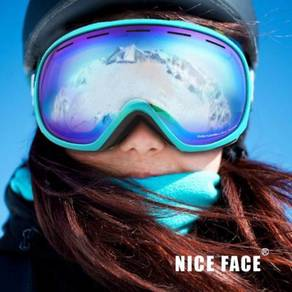 Anti-fog skiing/climbing googles