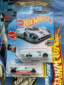 Hotwheels Porsche 917 LH Gulf Set