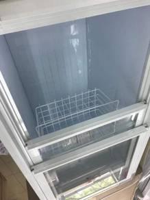 Deep Freezer (Sliding Top Glass) Set Baru