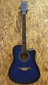 TengHai TH-41A BLS 41 inch acoustic guitar Blue