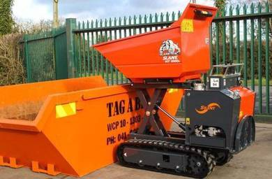 Japan Imported Yanmar 2Tons High Reach Tipper