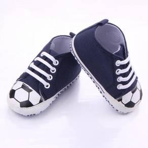 Style Charming Baby Prewalker- Soccer Blue
