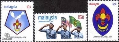 1974 Scout Jamboree Malaysia Stamp UM S