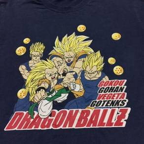 Dragon Ball Z Gokou Gohan Vegeta Gotenks Shirt L