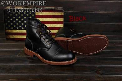 Redwing Iron Ranger Black