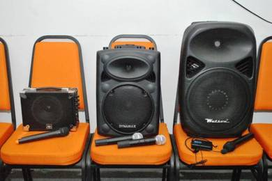 Portable Speaker Sewa - Mixer PA System Rental