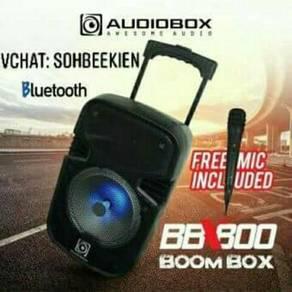 AUDIOBOX BBX800 BoomBox Trolley Bluetooth Speaker