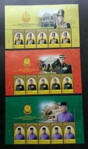 Mint Stamp Header Installation Sultan Kedah 2018