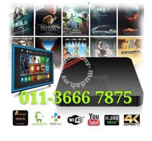 Reality (8GB) TX Android Pro+ TV Box Uhd iptv