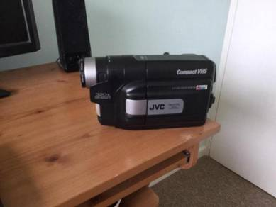 Jvc camcorder vhs compact