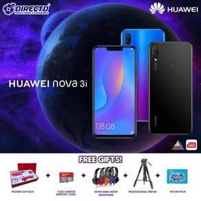 HUAWEI nova 3i (2 Kamera Dpn | 2 Kamera Blkg)MYSet