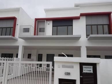 Brand new 2 storey at precinct 17 setia alam