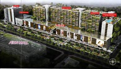 New Service Apartment at Jalan Keretapi