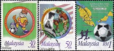 1997 9th World Youth Football Malaysia Stamp