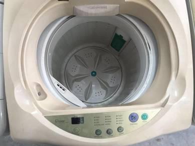 Top Load Mesin Washer Auto Basuh Samsung Recond