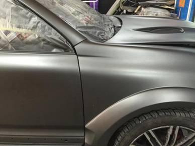 Porsche full car change porsche colour in out