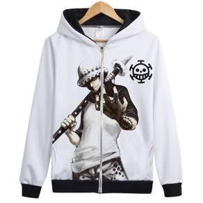 One piece trisfalgar law & ace sweater