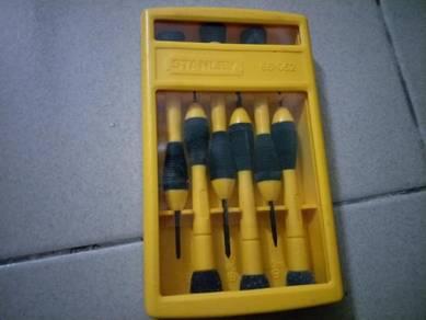 Vintage Stanley tool set screwdriver lama