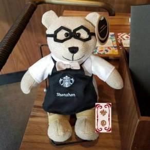 Starbucks ShenZhen Limited Edition Bearista Plush