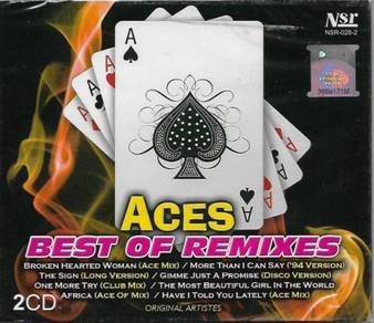 CD Aces Best of Remixes 2CD
