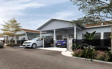 Zero Downpayment Single Storey Terrace House Kuantan Modern Design