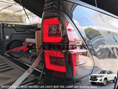 TOYOTA HILUX REVO Smoked LED Light Bar Tail Lamp