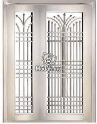 Stell aluminium doors
