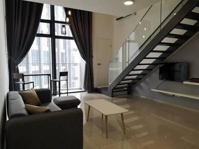 Eko Cheras Duplex Condo ,1R2B With Balcony F/F, Taman Mutiara Link MRT