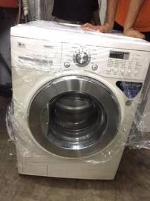 Combo 10.2kg Mesin Washer Dryer Machine Kering LG