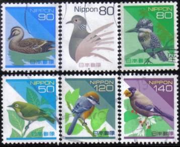 WWF Bird Duck Animal Japan Stamp USED #2