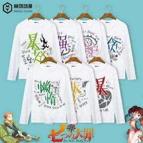 The Seven Deadly Sins long sleeve sweater