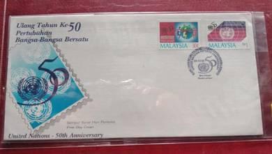 FDC Ulang Tahun Ke 50 PBB 1995