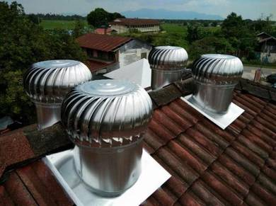 HGCS08 WINDMILL (US) Wind Roof Attic Ventilator