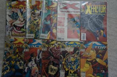 X-FACTOR. 1st series. issue 87-91, 93, 98-100