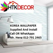 HOToffer Wall paper with Installation  612BW