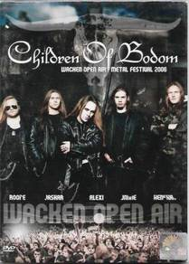 DVD Children of Bodom Wacken Open Air Metal Festiv