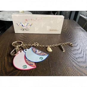 Starbucks Valentine Keychain Bracelet Cards