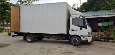 Lori pindah rumah angkat barang lorry service