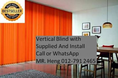Simple Use Office Vertical Blind w45h