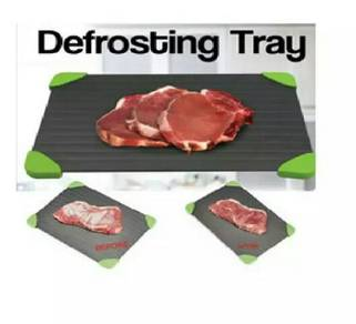 Difroast meat or prozen food tray