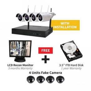 CCTV Camera Wireless Installation Pasang CCTV KL