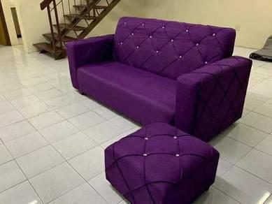 Sofa L shap,katil divan,wing chair