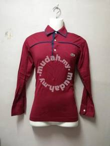 Vintage Rare CHEMISE LACOSTE Collar L/Sleeve Shirt