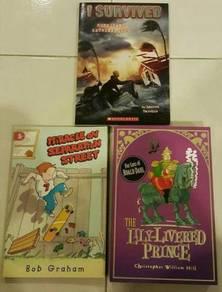 Children English story books Roald Dahl scholastic
