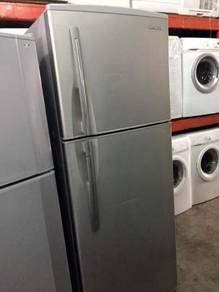 Refrigerator Silver Peti Sejuk Fridge Ais Hitachi