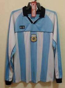 Rare jersey argentina longsleeve home fans version