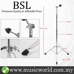 Bsl g300 adjustable cymbals stand straight foldabl