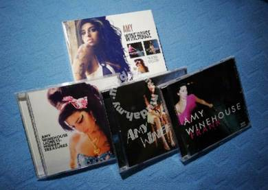 Amy Winehouse THE ALBUM COLLECTION 3 cd set