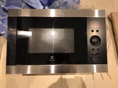 Electrolux 25L Built-in Microwave with Grill
